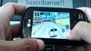 LG Optimus Me - Gangstar West Coast (QVGA)