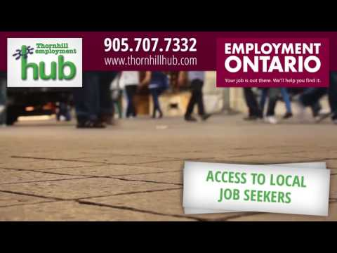 Thornhill Employment Hub- Employer