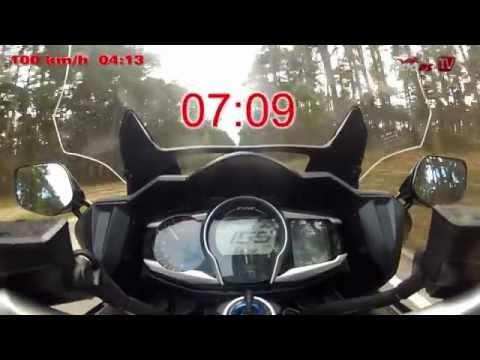 0-200km/h Yamaha FJR13000A 2013