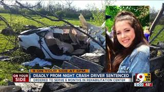 Teenager sentenced in deadly prom night crash