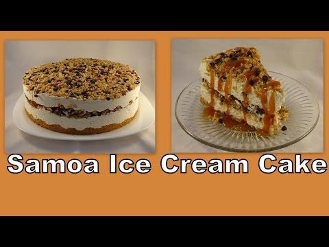Samoa Ice Cream Cake-with yoyomax12