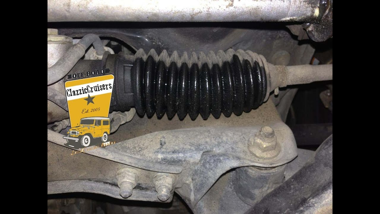 Subaru Legacy Liberty Steering Boot Removal And