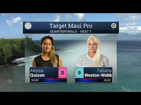 2015 Target Maui Pro: QF, H1 Recap