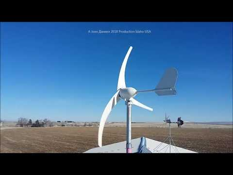500 watt+ Wind Turbines for off grid power ↙Info ↙