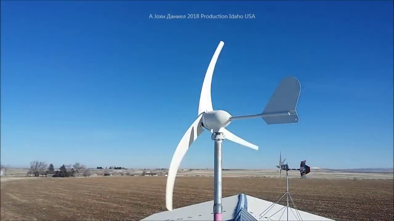 Small 500 watts Wind turbine off grid use - Prepper Mountain