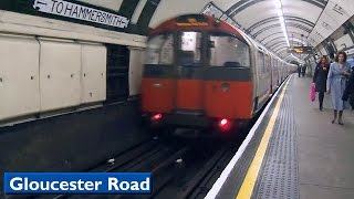 Gloucester Road | Piccadilly line : London Underground ( 1973 Tube Stock )