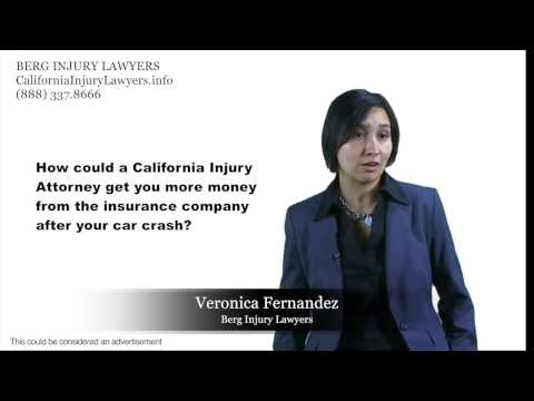 California Injury Lawyers Could Possibly TRIPLE Your Car Crash Settlement Money