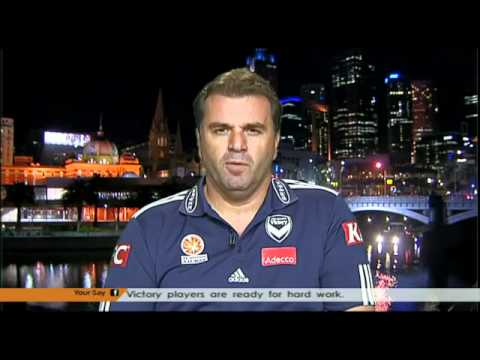 New Melbourne Victory Manager Ange Postecoglou on The World Game on SBS