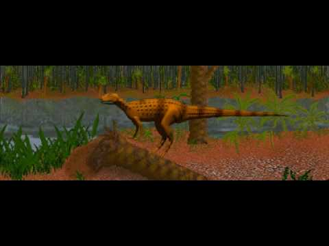 Dinosaur Safari (Early Jurassic) Clip #9: Scutellosaurus