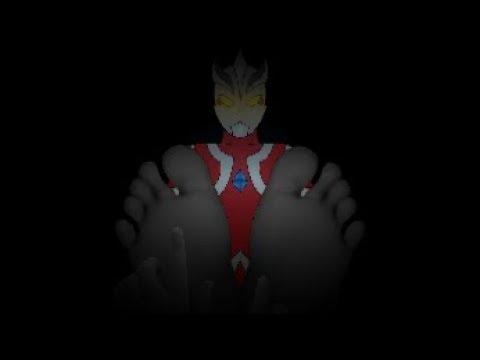 Ultraman Kemonos Feet Tickled