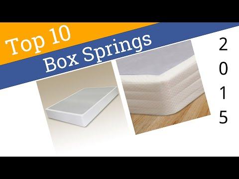 10 Best Box Springs 2015