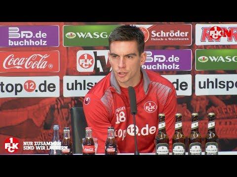 Pressekonferenz vor dem Nürnberg-Spiel