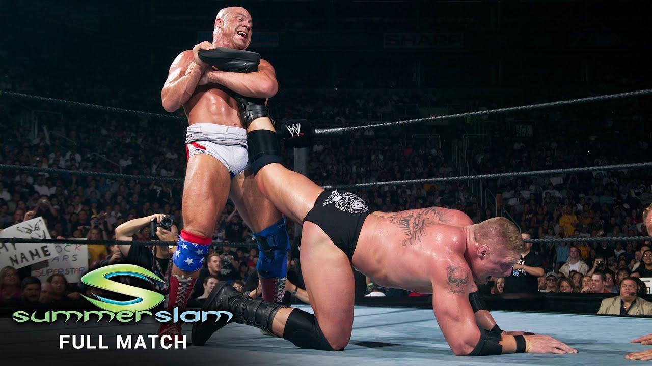 FULL MATCH - Kurt Angle vs. Brock Lesnar - WWE Title Match: SummerSlam 2003