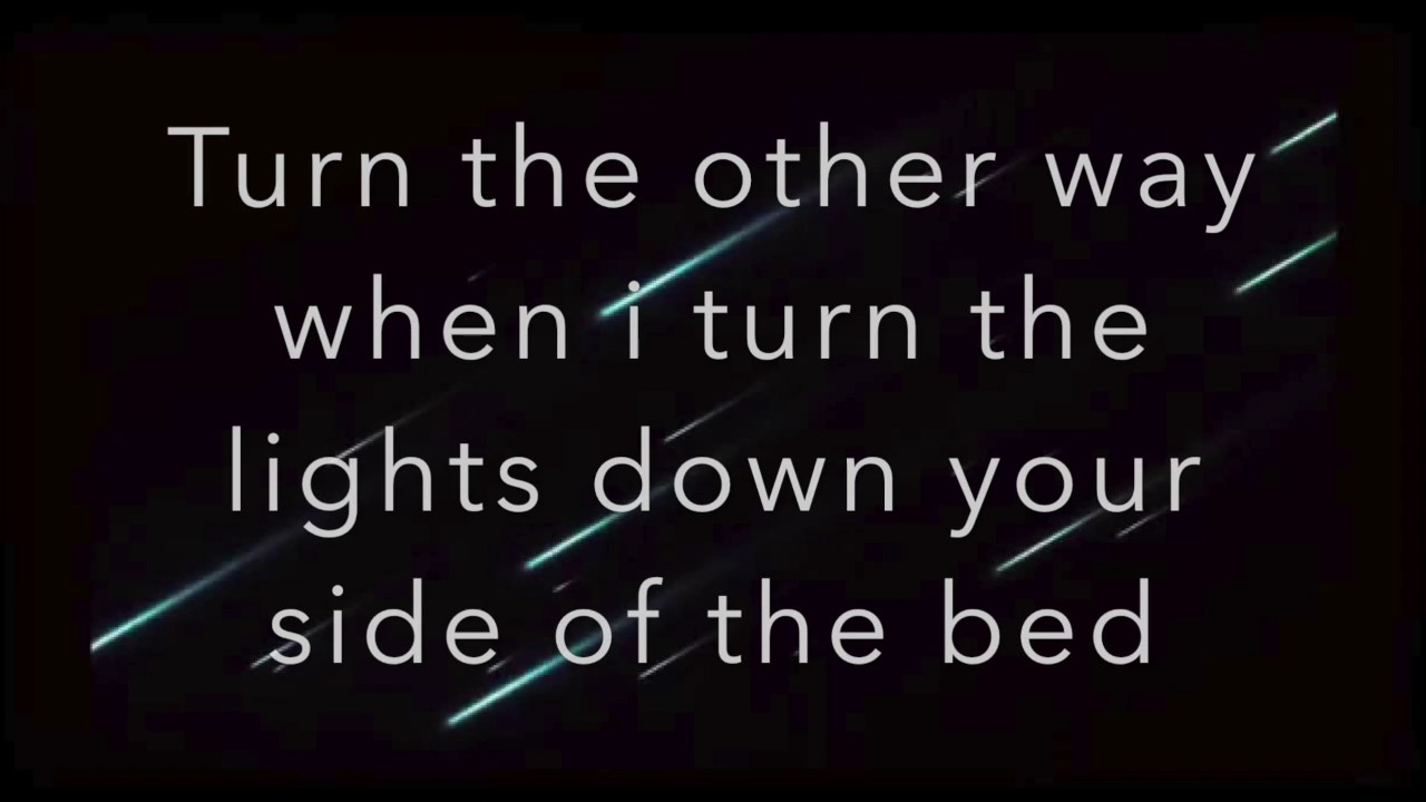 little big town on your side of the bed lyrics youtube. Black Bedroom Furniture Sets. Home Design Ideas