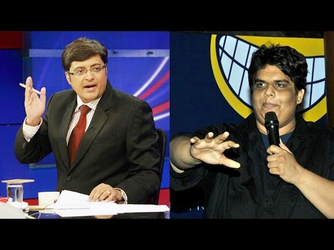 Tanmay Bhat of 'AIB' on Net Neutrality Debate - The Newshour Debate: Fight for free internet