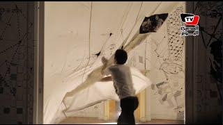 «تاجر البساطة».. معرض فني يحيي ذكرى رسام الجرافيتي هشام رزق