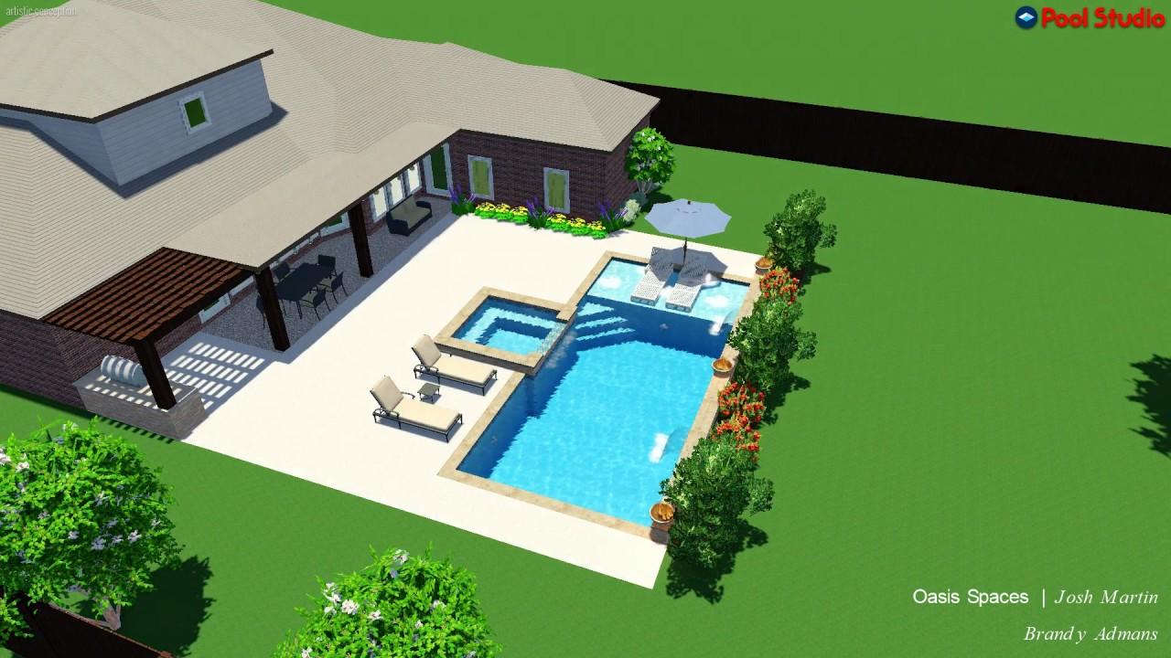 Pool Studio  3D Swimming Design Software