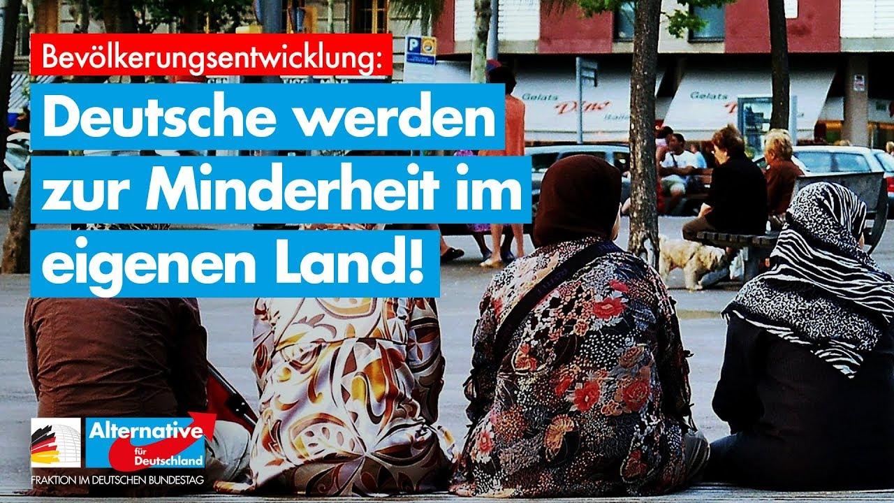 Deutsche werden zur Minderheit im eigenen Land!
