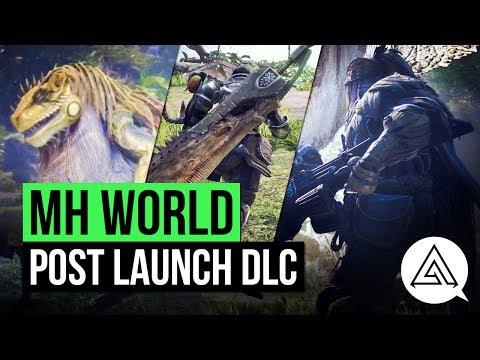 Monster Hunter World   Post Launch DLC, Open Multiplayer & More!