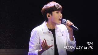 151226 Super Junior KRY in HK 厲旭Ryeowook Solo -【原諒我】