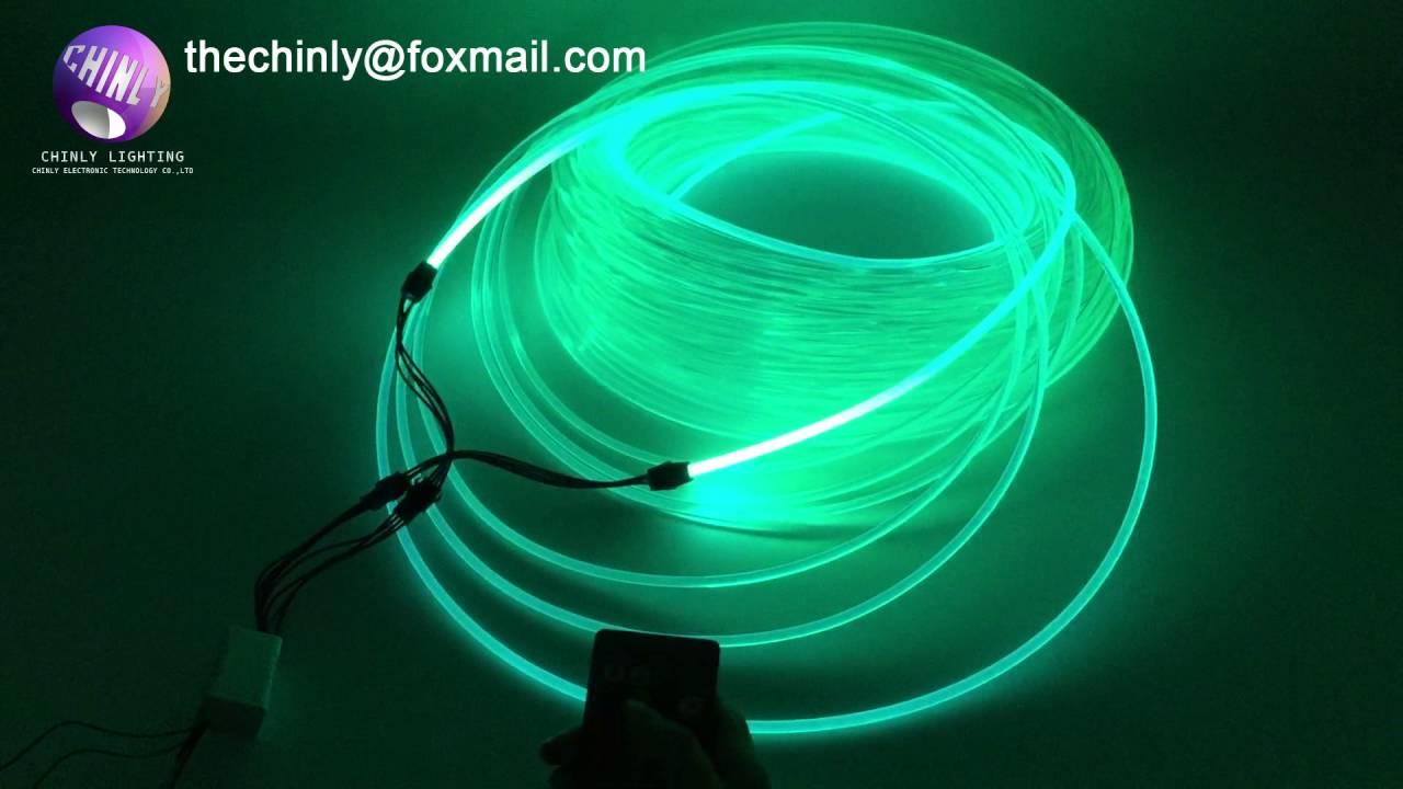 Side Glow Fiber Optic Lighting | Lighting Ideas