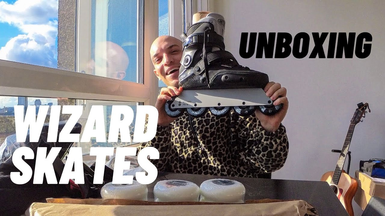 WIZARD SKATES 2021 UNBOXING + FIRST RIDE