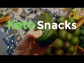 Best Keto Snacks from the grocery store | Low-Carb Ketogenic Diet Snacks