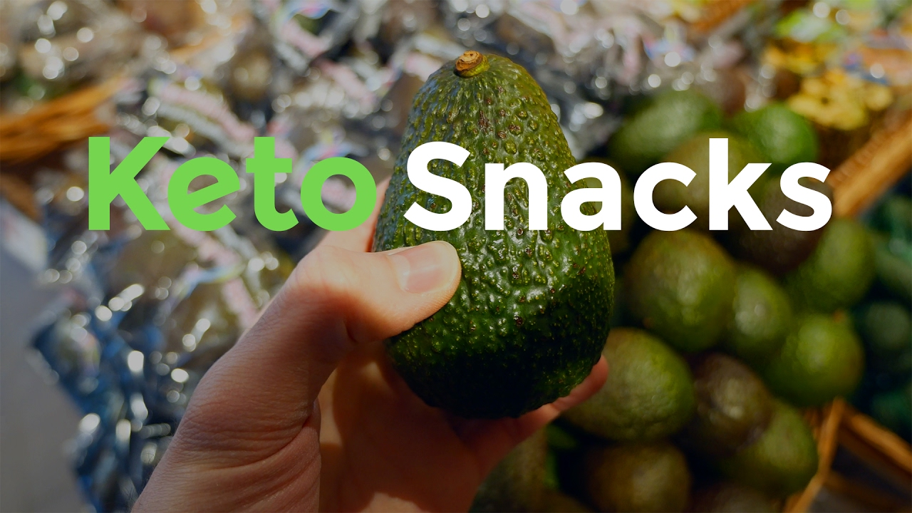 Best Keto Snacks from the grocery store | Low-Carb Ketogenic Diet Snacks - YouTube