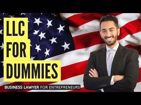 LLC For Dummies (LLC Simplified In Easy Terms!)