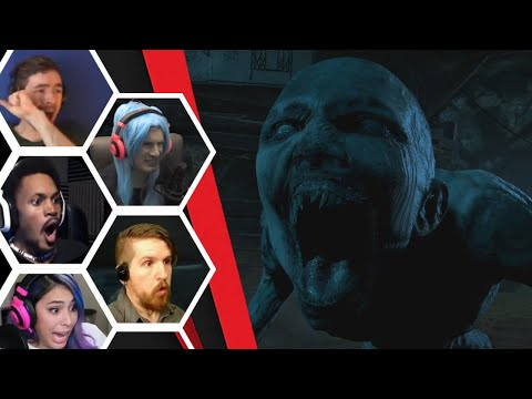 Let's Players Reaction To Seeing The Wendigo For The First Time | Until Dawn