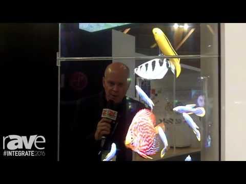 Integrate 2016: Leyard Planar Shows Off Its LookThru HD Transparent OLED Display
