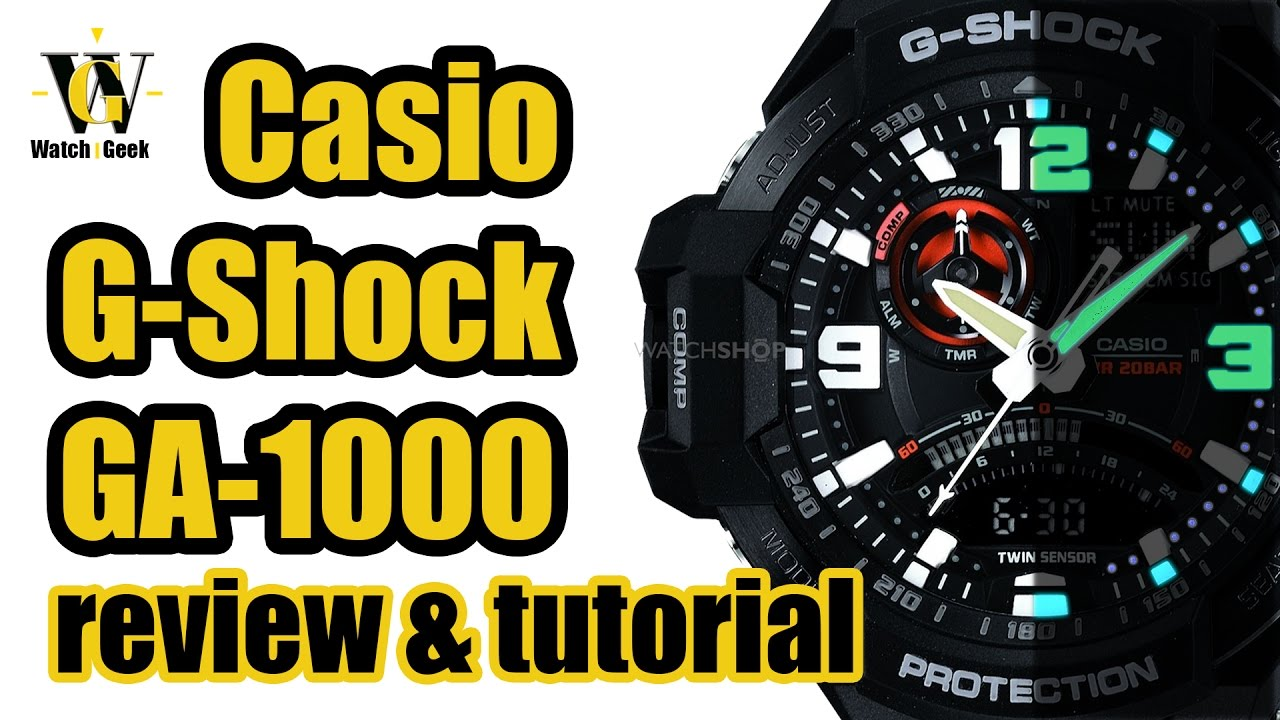 89f42cf5e9c Casio GA 1000 module 5302 - review   tutorial how to setup and use ALL the  functions