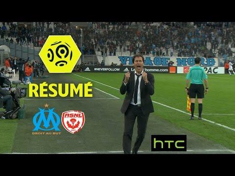 Olympique de Marseille - AS Nancy Lorraine (3-0)  - Résumé - (OM - ASNL) / 2016-17