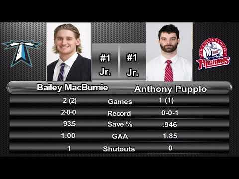 UMass Boston Men's Hockey Vs. New England College (11/3/18) Webcast