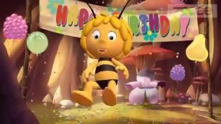 С ДНЁМ РОЖДЕНИЯ, МАМОЧКА! Поздравление с днём рождения от Zoobe пчёлки Майя  Zoobe на русском  WikiB