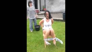 Repeat youtube video [Hilarious] Sexy girl Tied to Chair & Forced into doing the Ice Bucket Challenge (NEW) | Fail