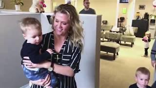 Kane (14 months): Pediatric Chiropractic Adjustment