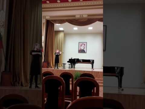 A.Šenderovas.Cantus in memoriam Jasha Heifetz