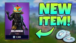 NEW HOLLOWHEAD SKIN GAMEPLAY / Fortnite Battle Royale Live / 162+ Wins 6400+ Kills