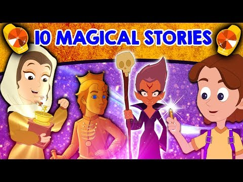 Top 10 Magical Stories  Fairy Tales In English | Bedtime Stories | English Cartoons | Magic Story