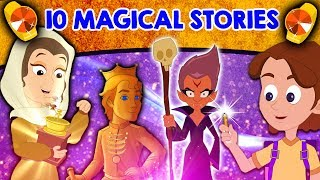 Top 10 Magical Stories - Fairy Tales In English | Bedtime Stories | English Cartoons | Magic Story
