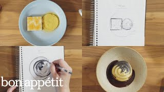 This Restaurant Turns Sketches Into Beautiful Desserts | Bon Appétit