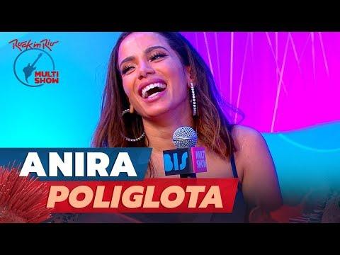 ANITTA mostra que é trilíngue e responde a perguntas em inglês e espanhol  Rock In Rio 2019
