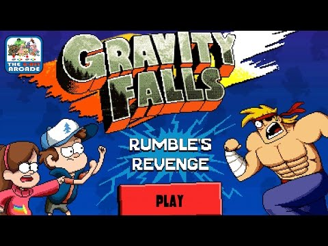 Gravity Falls: Rumbles Revenge - Super Pines Siblings are Trapped in a Game (Disney Games)