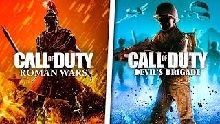 5 CANCELLED Call of Duty Games YOU NEVER KNEW EXISTED!
