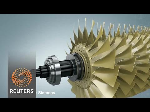 3D-printed turbine blades a