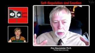 Repeat youtube video Experts in Emotion 18.3 -- Roy Baumeister on Self-Regulation and Emotion