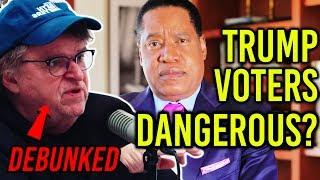 Larry Elder Debunks Michael Moore's Claims About White Trump Voters | Larry Elder Show