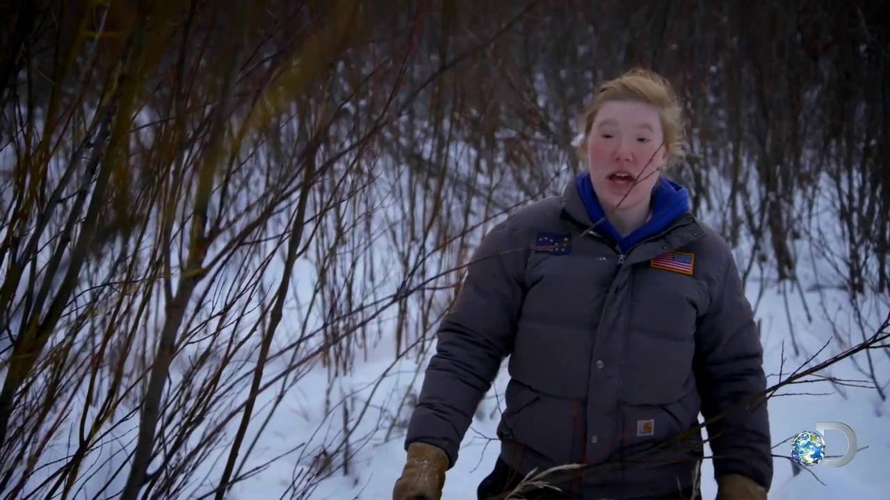 Sixth image of The Last Alaskans Lewis Girls Eyes with The Lewis Girls Set Beaver Traps | The Last Alaskans - YouTube