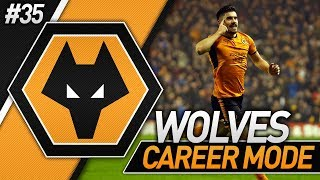 TOP OF THE LEAGUE! FIFA 18 WOLVES CAREER MODE #35
